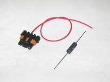 Alternator Connector Pigtail CS130D, AD230, AD237 and AD244 1 Wire with Resistor