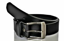 Levi's Men's Beveled Edge Bridle Leather Belt Black