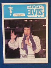 Elvis Presley - Fan Club Magazine - June / July 1981 - Taking Care of Elvis