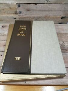 The Epic Of Man 1961 Time Life Books Hardcover Illustrated w Sleeve