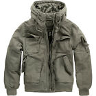 Brandit  BRONX Military Army Style Hooded Warm Mens Jacket - Olive - Brand New