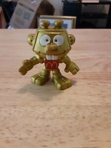 Astroniks Gold Robot Bully Figure Vintage 1983