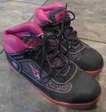 Timberland Nubuck Blue/Pink Womans Boots Size 7 #24961M