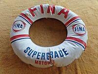 Ancienne bouée publicitaire FINA Supergrade Motoroil