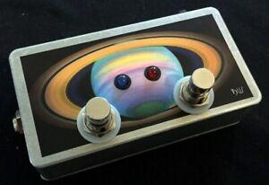 Saturnworks True Bypass 2 Looper Loop Switch Pedal w Neutrik Jacks Crafted in CA