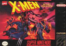 ***X-MEN MUTANT APOCALYPSE SNES SUPER NINTENDO GAME COSMETIC WEAR~~~