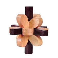 Juguete Rompecabezas mágico clásico de madera Kongming bloqueo del