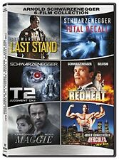 Arnold Schwarzenegger Collection DVD Last Stand Total Recall T2 Redheat Hercules