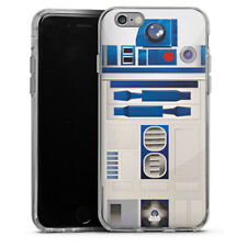 Apple iPhone 6 Silikon Hülle Case - R2D2 Closeup