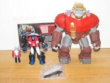 Transformers TFCC TFSS 5.0 Pretender Optimus Prime w/ Hi-Q Loose 100% Complete