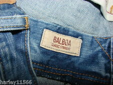 """HOLLISTER DENIM JEANS """"BALBOA"""" CLASSIC STRAIGHT SZ 34/34 WORN 1X AWESOME COND"""