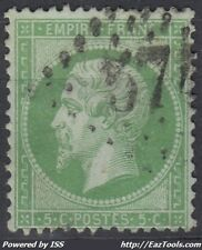 FRANCE EMPIRE N° 20 AVEC OBLITERATION GC 574 BOURGES CHER