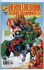 Heroes Reborn the Return 1997 series # 3 near mint comic book