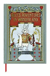 Book Cover Journal  -  The British Library, Alice's Adventures in Wonderland