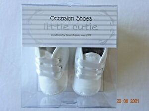 BABY BOY CHRISTENING SHOES IVORY/CREAM SPECIAL OCCASION BAPTISM BOOTS 1-12 Month