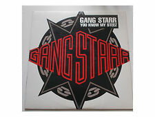 """Gang Starr - You Know My Steez - 12"""""""