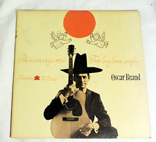 Oscar Brand: Pie in the Sky and Other Folk Songs Sung By.... [VG+ Copy]
