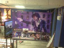 HUGE! 43x33 PRINCE vinyl banner Poster ART NEW 1999 purple rain no cd MOVIE