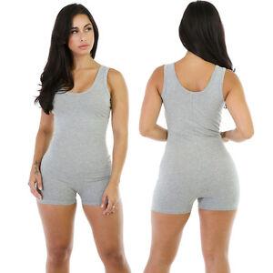 Women Gym Romper Dance Training Practice Yoga Bodycon Slim One piece Jumpsuit