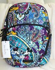 Vera Bradley Disney Mickey's Paisley Celebration Hadley Backpack a