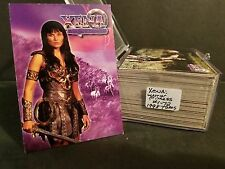 Xena Warrior Princess #1-72 Complete Base set : 1998 Topps