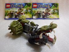 Lego 70001 Chima Crawley's Claw no Ripper, Con Manual