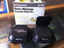 COPPIA DOME MIDRANGE PHONOCAR 2/313 - CON REFLETTORE ACUSTICO 300WATT NUOVO