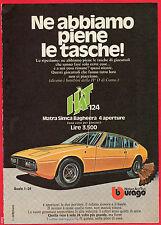 Pubblicità Advertising BBURAGO 1976 Matra Simca Bagheera