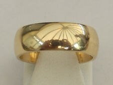 Lovely 18ct Yellow Gold Wedding Band - Size K -  Item:A4080