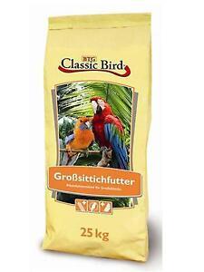 Großsittichfutter Classic Bird 25 kg Vogelfutter Sittich