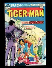 Tigerman #1 VF 1st & Origin Lan Hill/Tigerman (Tiger-Man) in Comics Anna Hill