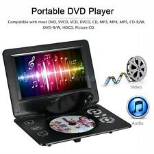 "9"" Portable 16:9 Widescreen HD LED Digital DVD Player Game FM TV USB SD&MMC Card"