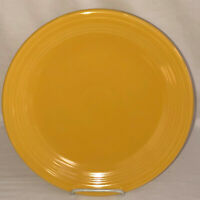 "Vintage FIESTA YELLOW 12"" CHOP PLATE"