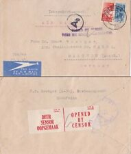 South Africa 1943 from Preoria with Ab censor at Berlin and in S. Africa on back
