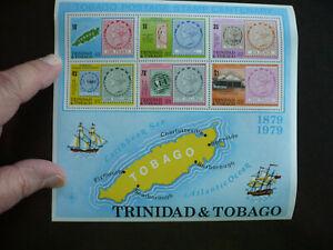 Stamps - Trinidad & Tobago - Scott# 317a - Souvenir Sheet