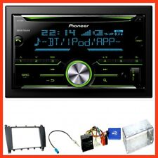Kit complet Mercedes classe C w203 CLC cl203 s203 pioneer fh-x730bt Bluetooth