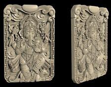 3D STL Model # The God Ganesha # for CNC Aspire Artcam 3D Printer 3D MAX
