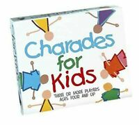 Paul Lamond Charades For Kids Childrens Family Board Game Picture Game