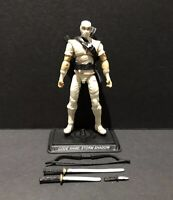 G.I. Joe 25th 30th 50th Cobra Ninja Storm Shadow V21 Figure Complete From 5 Pack