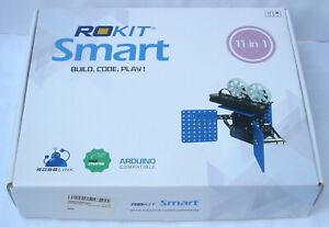 Rokit Smart Robot Kit by Robolink 11-in-1, STEM Robotics Arduino