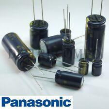 Condensateur 35V électrolytique radial Panasonic 105° valeur au choix FC Low ESR