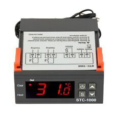110-220V Digital STC1000 Temperature controller Thermostat + Sensor Probe Kj