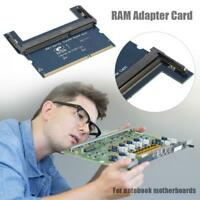 DDR2/DDR3 Laptop SO DIMM to Desktop DIMM Adapter Memory RAM Adapter Card Tools