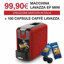 Lavazza Ep Mini Rossa Espresso Point + 100 Caspule Lavazza Crema e Aroma