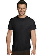 Hanes майка 4 шт. футболка Ultimate мужчины комфорт ультра мягкий хлопок черный серый