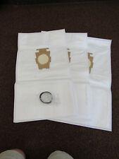 KIRBY MICRON MAGIC HEPA FILTRATION VACUUM BAGS pkg of 3 & 1 Genuine Kirby Belt