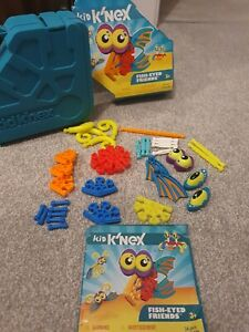 Kids Knex Fish Eyed Friends - boxed with instructions