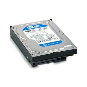 HDD WD WESTERN DIGITAL HARD DISK 500GB SATA 3,5? DESKTOP PC WD5000AAKS-