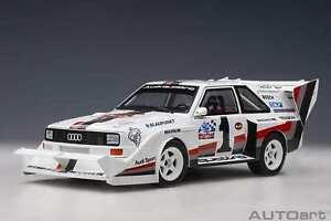 Audi Sport Quattro S1 Pikes Peak 1987 - W.Röhrl - 1:18 - Autoart (88700)