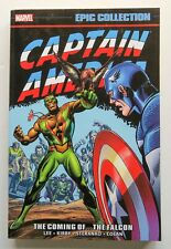 Captain America The Coming of Falcon S&D Marvel Epic EC Graphic Novel Comic Book